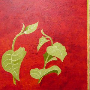 Gerhart Weihs, Frisches Grün, 40x50 cm, Acryl auf Canvas