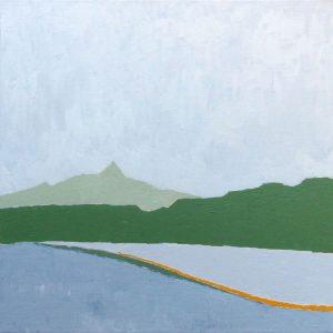Gerhart Weihs, Rojach I, 50x50 cm, Acryl auf Canvas