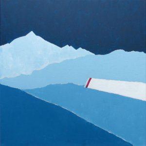 Gerhart Weihs, Rojach II, 50x50 cm, Acryl auf Canvas