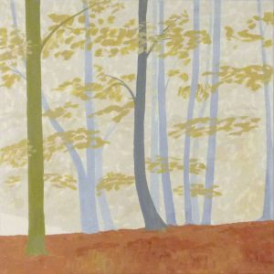 Gerhart Weihs, Herbst II, 60x60 cm, Acryl auf Canvas