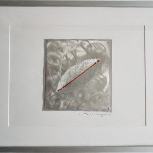 Meinhard Taumberger, O.T., 40x50 cm gerahmt, Metallschnitt