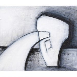 Silvia Steinacher, Alter, Bild 2 3er Zyklus, 60x80cm, Acryl auf Leinwand
