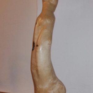 Johanna Tschabitscher, Skulptur Birke, Höhe 125 cm,