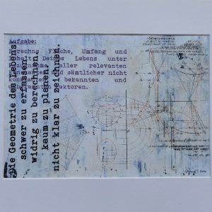 Thomas Sternig, Geometrie, 30x40 cm, Acryl Bildtransfer