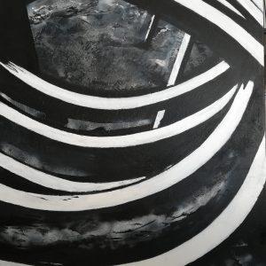 Margret Joch, O. T., 100x 80 cm, Acryl auf Leinwand