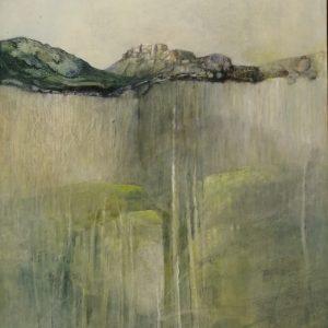 Roland Grasser, 82x65 gerahmt, O.T., Öl auf Leinwand