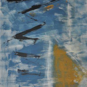 Dorli Vany, O. T., 100x70cm, Acryl auf Leinen